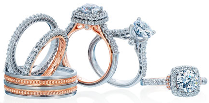 Verragio bridal and wedding rings and jewelry